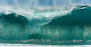 Ocean Wave at the Wedge in Newport Beach California