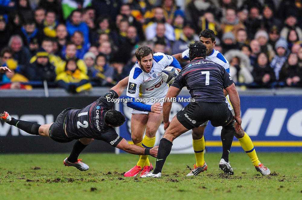 Camille LOPEZ - 25.01.2015 -  Clermont / Saracens - European Champions Cup <br />Photo : Jean Paul Thomas / Icon Sport