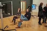 EMMA GALLAGHER; TOM CRUNDY, Gerard Byme. Whitechapel Gallery. London. 16 January 2012.