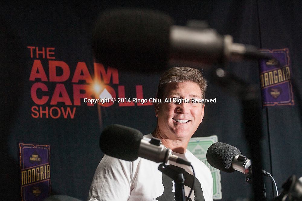 Mike August, business manager of Carolla Digital, an American podcast network. The flagship program of the network is The Adam Carolla Show.<br /> (Photo by Ringo Chiu/PHOTOFORMULA.com)