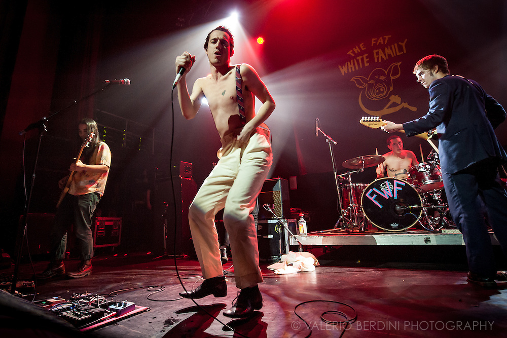Fat White Family live at the Coronet Theatre in Elephant and Castle, London on 9 Mar 2016 presenting their second album Songs For Our Mothers