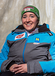 08.10.2016, Olympia Eisstadion, Innsbruck, AUT, OeSV Einkleidung Winterkollektion, Portraits 2016, im Bild Claudia Lösch, Behindertensport, Damen // during the Outfitting of the Ski Austria Winter Collection and official Portrait Photoshooting at the Olympia Eisstadion in Innsbruck, Austria on 2016/10/08. EXPA Pictures © 2016, PhotoCredit: EXPA/ JFK