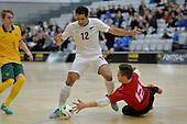 20140712 Futsal Trans Tasman Cup - Whites v Roos