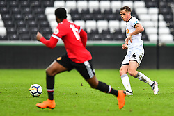 Joe Lewis of Swansea City in action - Mandatory by-line: Craig Thomas/Replay images - 18/03/2018 - FOOTBALL - Liberty Stadium - Swansea, England - Swansea City U23 v Manchester United U23 - Premier League 2 - Divison 1