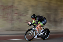 Kirsten Wild at Boels Rental Ladies Tour Stage 3 a 16.9 km individual time trial in Roosendaal, Netherlands on August 31, 2017. (Photo by Sean Robinson/Velofocus)
