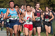 New York, New York  - Runners compete in the Ivy League Heptagonal men's<br />