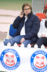 OSLO, NORWAY - Saturday, December 19, 2009: Tournament Director Anders Borg during the Ladies' Final at the NRP Rubik Nordic Masters 2009 tournament at the Riksanlegget. (Pic by David Rawcliffe/Propaganda)
