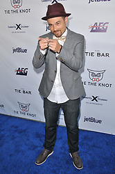 DJ Hapa arrives at Jessie Tyler Ferguson's 'Tie The Knot' 5 Year Anniversary celebration held at NeueHouse Hollywood in Los Angeles, CA on Thursday, October 12, 2017. (Photo By Sthanlee B. Mirador/Sipa USA)