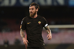 March 3, 2018 - Naples, Naples, Italy - Daniele De Rossi of Roma during the Serie A TIM match between SSC Napoli and AS Roma at Stadio San Paolo Naples Italy on 3 March 2018. (Credit Image: © Franco Romano/NurPhoto via ZUMA Press)