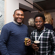13.03.2017<br /> Canteen, Mallow street hosted The Steam of a Perfect Coffee an investiaftion into STEAM (Science, Technology, Engineering, Art and Mathematics) of the perfect cup of Coffee. <br /> Pictured at the event were, Ekeoma Ijioma and Akeem Olaleye.<br /> Picture: Alan Place