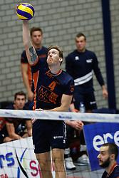 20181027 NED: Eredivisie, SV Land Taurus - Achterhoek Orion: Houten<br />Joris Marcelis (4) of Achterhoek Orion<br />©2018-FotoHoogendoorn.nl / Pim Waslander