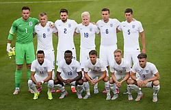 The England U21 team photo - Photo mandatory by-line: Matt McNulty/JMP - Mobile: 07966 386802 - 11/06/2015 - SPORT - Football - Barnsley - Oakwell Stadium - England U21 v Belarus U21 - International Friendly U21s