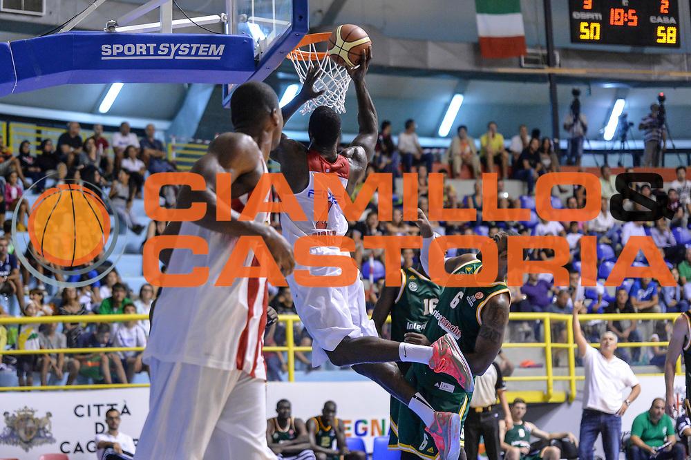 DESCRIZIONE : 5&deg; International Tournament City of Cagliari Olympiacos Piraeus Pireo - Limoges CSP<br /> GIOCATORE : Patric Young<br /> CATEGORIA : Tiro Penetrazione Fallo<br /> SQUADRA : Olympiacos Piraeus Pireo<br /> EVENTO : 5&deg; International Tournament City of Cagliari<br /> GARA : Olympiacos Piraeus Pireo - Limoges CSP Torneo Citt&agrave; di Cagliari<br /> DATA : 19/09/2015<br /> SPORT : Pallacanestro <br /> AUTORE : Agenzia Ciamillo-Castoria/L.Canu