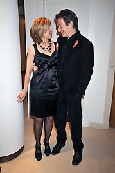 MICHAEL BRANDON and GLYNIS BARBER at the Lighthouse Gala Charity Auction in aid of the Terrence Higgins Trust held at Christie's, St.James' London on 23rd March 2009.