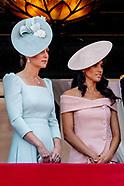 Duchess of CAmbridge & Duchess of Sussex - 10 June 2018