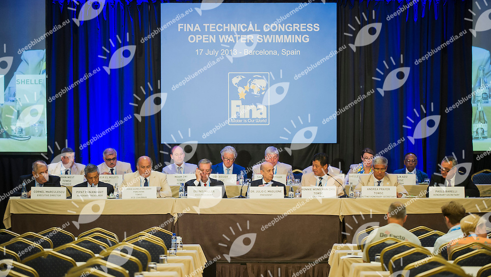 FINA Open Water Technical Congress<br /> Hotel Fira Palace, Barcelona (Spain) 17/07/2013 <br /> FINA World Championships Barcelona 2013<br /> &copy; Giorgio Perottino / Deepbluemedia