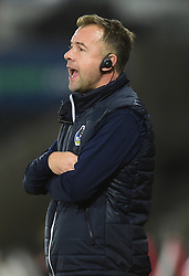 Bristol Rovers assistant manager Marcus Stewart - Mandatory by-line: Alex James/JMP - 05/12/2018 - FOOTBALL - Liberty Stadium - Swansea, England - Swansea City U21 v Bristol Rovers - Checkatrade Trophy