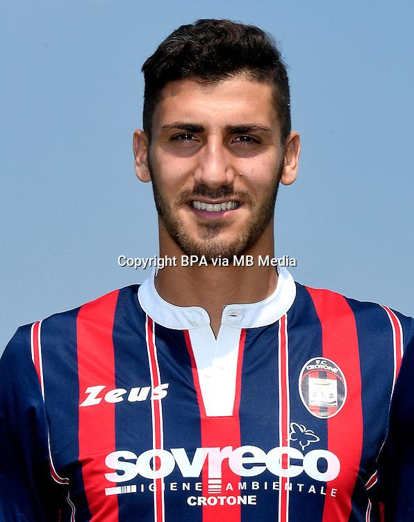 Italian League Serie A -2016-2017 / <br /> ( Fc Crotone ) - <br /> Marcello Trotta