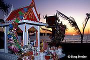 spirit houses, Patong Beach, Phuket Island, Thailand