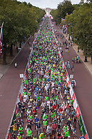Riders in the FreeCycle event stream down the Mall, as seen from Admiralty Arch<br /> <br /> Prudential RideLondon, the world's greatest festival of cycling, involving 70,000+ cyclists – from Olympic champions to a free family fun ride - riding in five events over closed roads in London and Surrey over the weekend of 9th and 10th August. <br /> <br /> Photo: Dillon Bryden for Prudential RideLondon<br /> <br /> See www.PrudentialRideLondon.co.uk for more.<br /> <br /> For further information: Penny Dain 07799 170433<br /> pennyd@ridelondon.co.uk