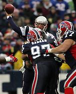 Tom Brady, New England Patriots @ Buffalo Bills, 11 Dec 05, 1pm, Ralph Wilson Stadium, Orchard Park, NY