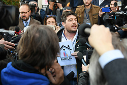 Italy, Verona  - March 30, 2019.Families World Conference..Press conference  of far-right movement 'Forza Nuova', Luca Castellini (Credit Image: © Fotogramma/Ropi via ZUMA Press)