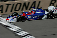 Dario Franchitti at the Pikes Peak International Raceway, Honda Indy 225, August 21, 2005