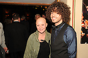 GAIL PORTER; JONNY DAVIES, The VIP night for Cirque Du Soleil: Quidam at  the Royal Albert Hall, London. 7 January 2013