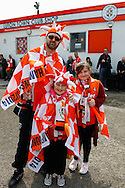 Luton Town fans before the Skrill Conference Premier match at Kenilworth Road, Luton<br /> Picture by David Horn/Focus Images Ltd +44 7545 970036<br /> 21/04/2014