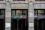 Nederland, Amsterdam, 16-5-2017Euronext, de Amsterdamse effectenbeurs gevestigd aan Beursplein 5.Foto: Flip Franssen