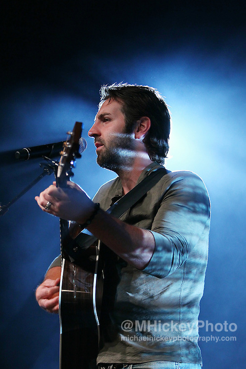 Josh Kelley performs at the Best Buy Country Music Expo at the Indiana State Fairgrounds in Indianapolis, Indiana. Indianapolis, Indiana concert photography by Michael Hickey.