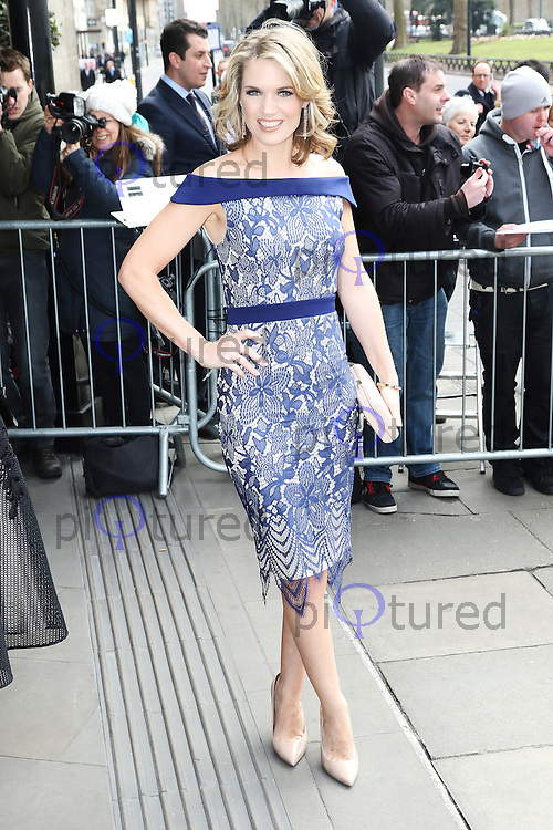 Charlotte Hawkins, The TRIC Awards , Grosvenor House, London UK, 08 March 2016, Photo by Richard Goldschmidt
