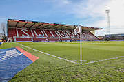 The County Ground during the Sky Bet League 1 match between Swindon Town and Wigan Athletic at the County Ground, Swindon, England on 25 March 2016. Photo by Shane Healey.