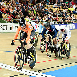 03-03-2019: WK wielrennen: Baan: Pruszkow<br />- 02/03/2019 - Cycling - UCI Track Cycling World Championships presented by Tissot - Velodrome BGZ Arena, Pruszkow, Poland -  keirin