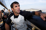 FRANCE, Nice, 29th October 2009, onboard GBR75, TEAMORIGIN, Julien Cressant, Mid Bow.