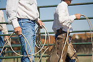 2007 Spring Branding at Jack Anderson's Ranch in Grover, Colorado. Model releases available at request.