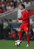 20091010: LISBON, PORTUGAL - Portugal vs Hungary: World Cup 2010 Qualifying Match. In picture: Ricardo Carvalho. PHOTO: Carlos Rodrigues/CITYFILES