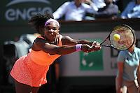 Serena WILLIAMS  - 06.06.2015 - Jour 14 - Finale Femmes - Roland Garros 2015<br />Photo : Nolwenn Le Gouic / Icon Sport
