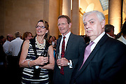 SIR NICHOLAS SEROTA; LORD LAMONT, Tate Summer Party. Celebrating the opening of the  Fiona Banner. Harrier and Jaguar. Tate Britain. Annual Duveens Commission 29 June 2010. -DO NOT ARCHIVE-© Copyright Photograph by Dafydd Jones. 248 Clapham Rd. London SW9 0PZ. Tel 0207 820 0771. www.dafjones.com.