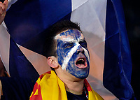 Photo: Jed Wee/Sportsbeat Images.<br /> Scotland v Italy. UEFA European Championships Qualifying. 17/11/2007.<br /> <br /> A Scottish fan typifies the atmosphere running through Hampden Park.