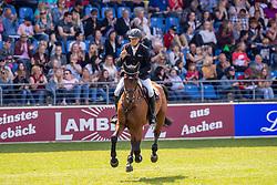 THIEME Andre (GER), Aretino 13<br /> Aachen - CHIO 2019<br /> Turkish Airlines-Preis von Europa<br /> Springprüfung mit Stechen <br /> 17. Juli 2019<br /> © www.sportfotos-lafrentz.de/Stefan Lafrentz