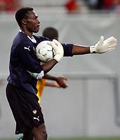 Fotball<br /> Østerrike v Kamerun<br /> 12.08.2009<br /> Foto: Gepa/Digitalsport<br /> NORWAY ONLY<br /> <br /> Bild zeigt Idriss Carlos Kameni (CMR)