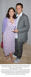 MISS SHEBAH RONAY daughter of Edina Ronay and artist MR JOHNNY YEO, at a party in London on 28th May 2002.PAL 35