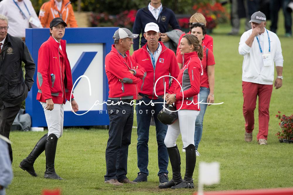 Fuchs Martin, Fuchs Tomas, Smits Edwin, Peter-Steiner Nadia<br /> CHIO Aachen 2017<br /> © Hippo Foto - Dirk Caremans<br /> 20/07/2017