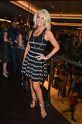 CLAIRE CAUDWELL at a party to celebrate the opening of 'M' a new restaurant & bar at 2 Threadneedle Walk, 60 Threadneedle Street, City of London on 12th November 2014.