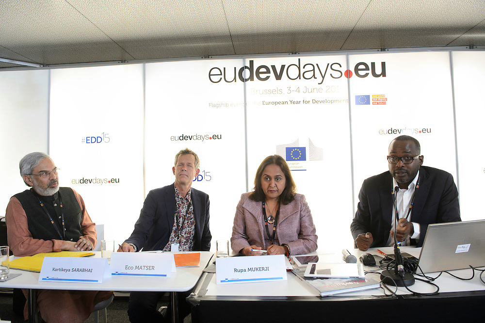 03 June 2015 - Belgium - Brussels - European Development Days - EDD - Climate - The unbearable cost of business as usual © European Union