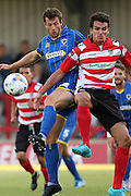 Jon Meades during the match between Kingstonian and AFC Wimbledon at the Cherry Red Records Stadium, Kingston, England on 30 July 2015. Photo by Stuart Butcher.