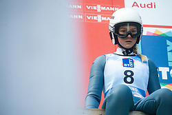 HERASYMIUK Vitalina (UKR) during practice round on Day 1 of FIS Ski Jumping World Cup Ladies Ljubno 2020, on February 22th, 2020 in Ljubno ob Savinji, Ljubno ob Savinji, Slovenia. Photo by Matic Ritonja / Sportida