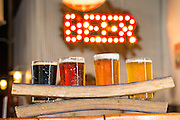 A sampler flight of beer at Bentonville Brewing Company on Friday, February 19, 2016, in Bentonville, Arkansas. Beth Hall for the New York Times