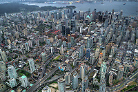 Aerial View, City of Vancouver